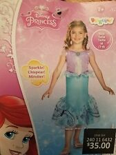 Disney Princess Ariel Little Mermaid Kids  Costume - Size M (7-8) - NWT CUTE!