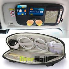 Car Sun Visor Organizer Auto Interior Accessories Pocket Organizer Truck Storage