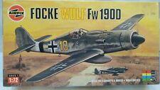 Vintage AIRFIX Focke Wulf FW 1900 WW2 German Fighter Aircraft Model Kit Airplane