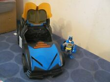 Batman Imaginext Batmobile with Batman lights sounds moves