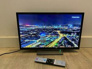 """Toshiba 24"""" LED HD Smart TV with built in DVD Player"""