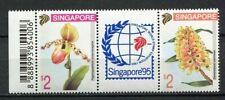 24946) SINGAPORE 1994 MNH** Nuovi** Flowers Orchids 2v