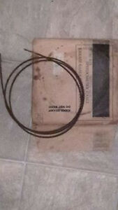 1938-1939 Ford passenger car NOS oem speedometer cable core 7817262