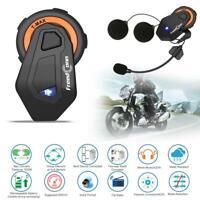 FreedConn T-MAX 1500m BT4.1 Motorrad Helm Sprechanlage 6 Fahrer Kopfhörer