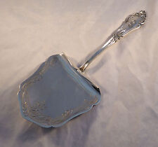 """Fancy Etched German 800 Sterling Hooded Asparagus Servery By H Meyen(?)-9""""-Mono"""