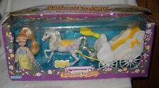 #7033 Vintage Marchon Enchanted Kingdom Fairy Tale Princess, Horse & Carriage