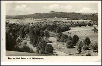 Bad Berka Thüringen DDR Postkarte 1959 gelaufen Blick von der Wilhelmsburg