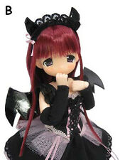 MAMACHAPP Nanachan Little Devil Dress Ver. Rose Red Hair 1/6 Fashion Doll
