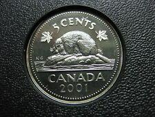 2001 Canadian Specimen Nickel Cent ($0.05)
