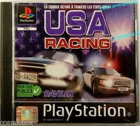USA RACING jeu video PlayStation 1 console Sony psx ps1 ps2 ps 2 testé complet