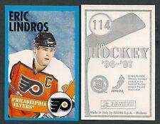 1996-97 Euro Panini Hockey Sticker #114 Eric Lindros