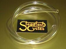 """5/16"""" ID Clear Fuel Line Gas Hose 5' Matchless AJS BSA Triumph Norton thick wall"""