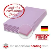 Electric Underfloor Heating Insulation Boards 10mm XPS  for underfloor heating