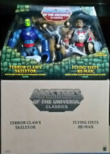 Masters of the Universe Classics Terror Claws Skeletor & Flying Fists He-Man!