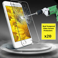 """20 x Premium Real Temper Glass Screen Protector For 4.7"""" Apple iPhone 6"""