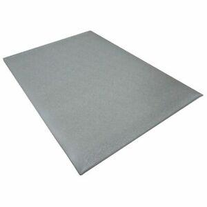 "ESD Anti-Fatigue Cut Floor Mat, Gray, 3/8"" x 2' x 3'"