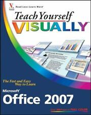 Teach Yourself VISUALLY Microsoft Office 2007 by Kinkoph, Sherry Willard, Good B