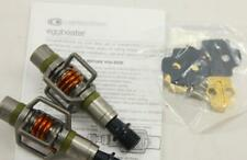 Crank Brothers Eggbeater 3 Pedals LIMITED EDITION Forest Green/Orange w/ Cleats
