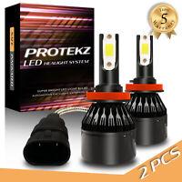 Protekz LED Fog Light Kit H3 6000K CREE for 1999-2006 Jeep TJ