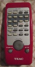 Genuine Teac RC-1264 Red Remote Control for SL-D920