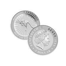 2017 $1 Australia 1 Troy Oz .9999 Fine Silver Kangaroo Coin