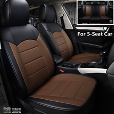 Full Set Breathable 5-Seat Car Seat Cover PU Leather For Interior Accessories