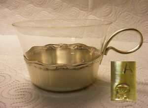 WMF 2200 6 Teegläser mit Glaseinsatz (1)