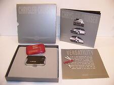 2000 CHRYSLER PT CRUISER SWISS ARMY KNIFE CARD VICTORINOX PROMOTIONAL
