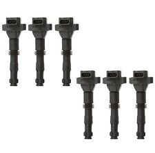 Set of 6 Delphi Direct Ignition Coils for Porsche 911 99-01 Boxster 97-02 H6 NEW
