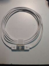 Used OEM Apple 6 to 6 Pin Thin White FireWire Cable