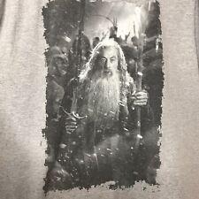 The Hobbit The Battle of the Five Armies Gandalf T-Shirt Mens Size XL