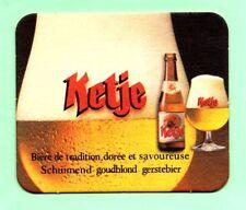 sous-bock KETJE / STELLA ARTOIS bierdeckel coaster bierviltje Lot 1527
