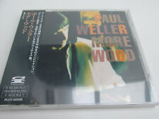 sealed PAUL WELLER more wood 1993 PONY CANYON japanese CD japan OBI release only