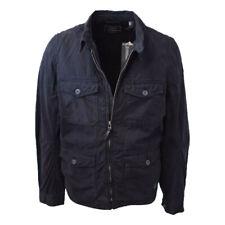 O'Neill Men's Black L/S Light Canvas Field Jacket (Retail $139.99)