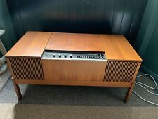 More details for vintage hmv record player / radio 60s/70s table / furniture