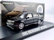 VW Jetta A3  1995  schwarz  / Greenlight 1:43