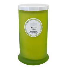 Shearer Candles - The couture collection PERSE citron vert haut Pilier bougie