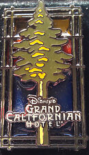Disney California Adventure Grand Californian Stained Glass Logo Pin DLR DCA
