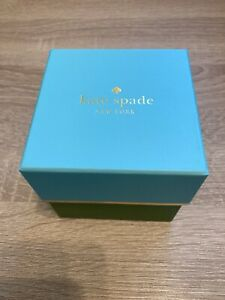 Kate Spade New York~ Small Blue and Green Gift Box