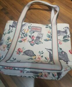 Cath Kidston BADGERS AND FRIENDS tote bag excellent condition