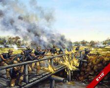 SPANISH AMERICAN WAR PHILIPPINES PAINTING US MILITARY HISTORY ART CANVAS PRINT
