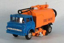 SHINSEI GMC Street Sweeper (Blue Cab) 1/60 Scale Diecast Model ULTRA-RARE!