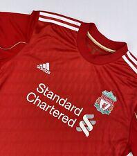 Adidas Liverpool 2010-12 Home Football Jersey Shirt Large