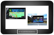 Clarion nx302e coche 2din con navegación GPS TMC mp3 SD USB Bluetooth LCD