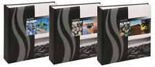 Wave Fotoalbum für 200 Fotos in 10x15 cm Einsteckalbum Memo Foto Album