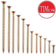 Professional Quality M5 SIZE WOOD SCREWS Pozidriv 3 CHOOSE LENGTH 25mm - 100mm