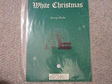 WHITE CHRISTMAS Irving Berlin Sheet Music Song Booklet 1942 FREE SHIPPING