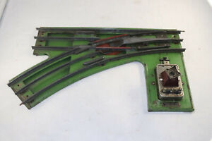 Lionel prewar No. 223 Left Hand switch Green For parts or repair