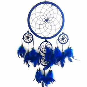 Large Navy Blue Dreamcatchers Feather Kids Dream Catchers Xmas Stocking Filler