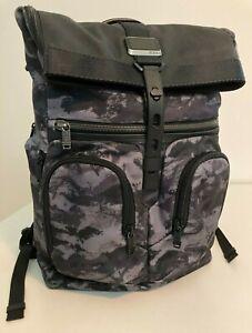 Tumi London Roll-Top Backpack – Alpha Bravo – Charcoal Restoration  (Like Lance)
